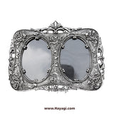 Metal Photo Frame in Silver Finish Gifting Item_Hayagi