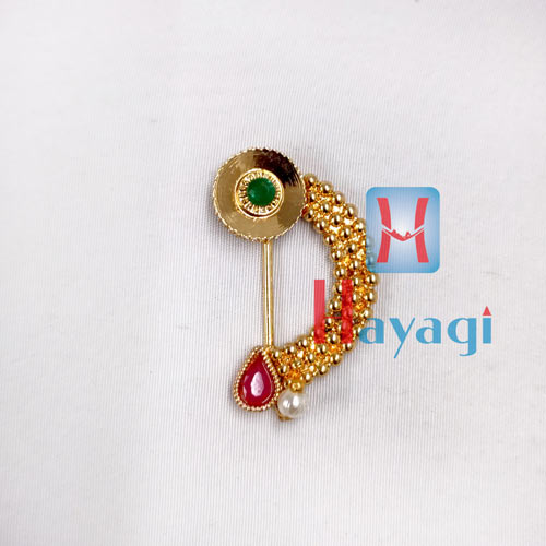 Golden Nath(Press) Multicolour Stones _Hayagi(Pune)