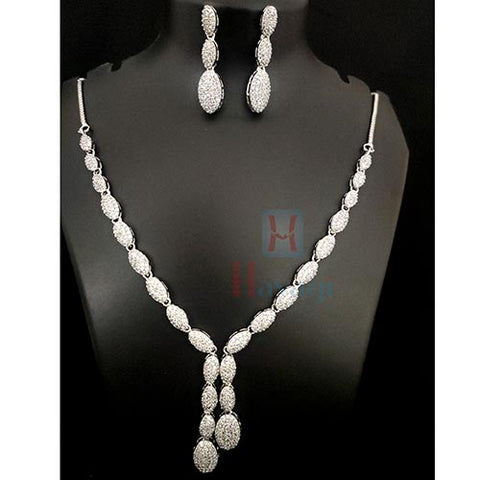 Oval Shaped Fancy Necklace_Hayagi(Pune)
