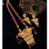 Unique Design Pendant Set Crystal Studded Online _Hayagi(Pune)