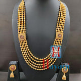Multi Strand Mohan Mala Necklace Online, Set-Hayagi Pune