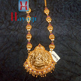 Traditional Long Necklace Laxmi Lord Online_Hayagi