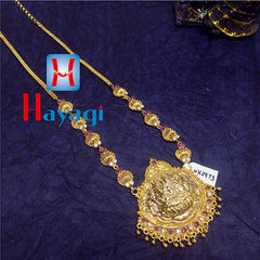 Traditional Long Necklace Laxmi Lord Online, Buy Necklace - Hayagi