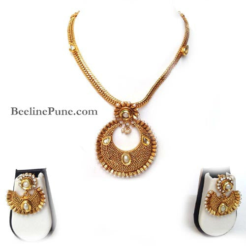 Amazing Temple Necklace, Buy Necklace Online India-Hayagi - Beeline  - 1