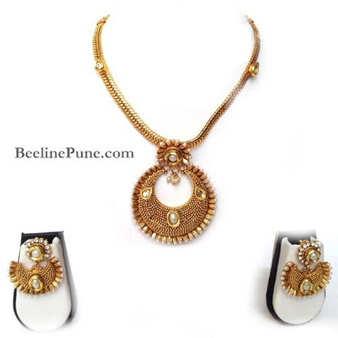 Temple Necklace-Buy Necklace Online India-Hayagi