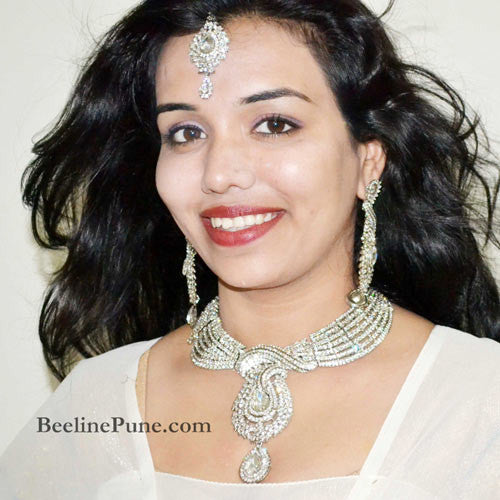 Bridal Vivaah Collection, Necklace Set Online India- Hayagi - Beeline  - 1