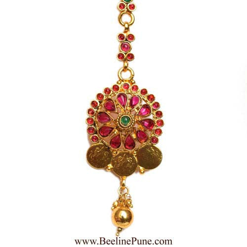 Bridal Laxmi Temple Long Necklace Set Online India-Hayagi - Beeline  - 3