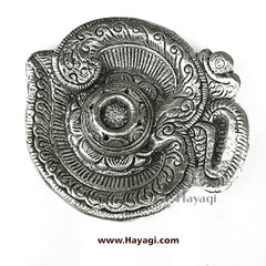Metal Agarbatti Stand in Silver Finish Gifting Item- Hayagi