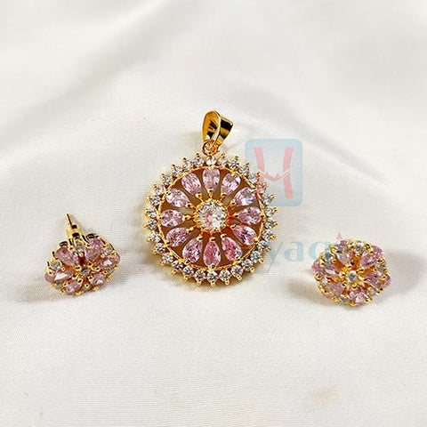 C Z Fancy Pendant Set _Hayagi(Pune)