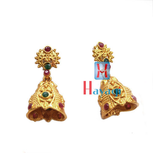 Temple Jewellery Multicolour Circle Flower Design, Online_Hayagi
