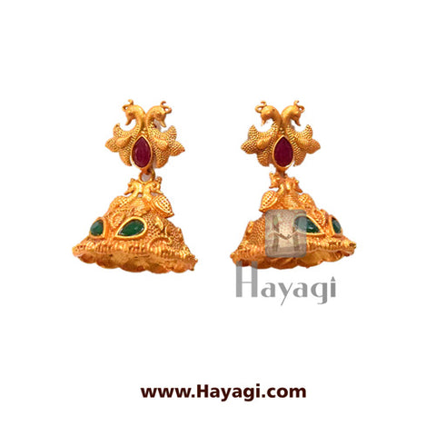 Temple Laxmi Pendant Antique , Fashion Jewellery Online-Hayagi