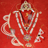 Festive Gauri Ganesh Accessories Combo Set For Gauri Pooja Buy Online  -Hayagi