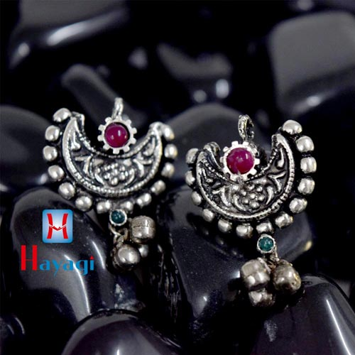 Traditional Oxidized Chand Thushi Tops_Hayagi(Pune)