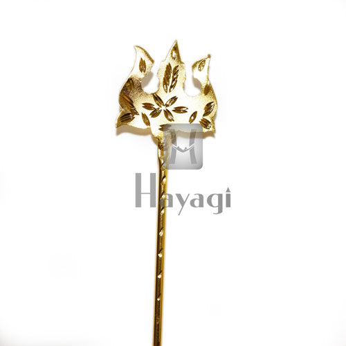 Trishul/Parshu Ideal for Ganesh and Gauri Ornaments- Hayagi
