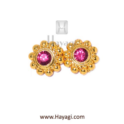 Thushi Tops, Thushi Kudi Saaj Earrings Tops Buy Online - Hayagi - Beeline  - 1