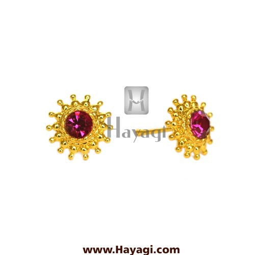 Maharashtrian Earrings Rava Saaj Tops Buy Online - Hayagi - Beeline  - 2