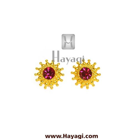 Maharashtrian Earrings Rava Saaj Tops Buy Online - Hayagi