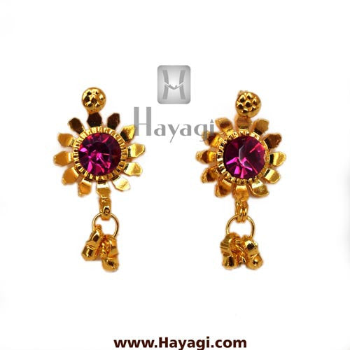 Kolhapuri Earrings Saaj Tops Buy Online - Hayagi - Beeline  - 2