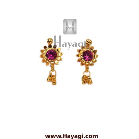 Kolhapuri Earrings Saaj Tops Buy Online - Hayagi