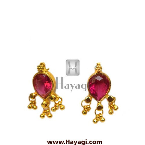 Maharashtrian Earrings Panadi Saaj Tops Buy Online - Hayagi - Beeline  - 2