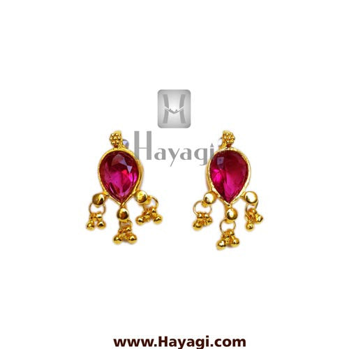 Maharashtrian Earrings Panadi Saaj Tops Buy Online - Hayagi - Beeline  - 1