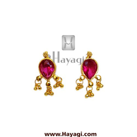 Maharashtrian Earrings Panadi Saaj Tops Buy Online - Hayagi