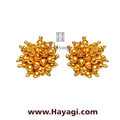 Maharashtrian Thushi Earrings Tops Online Shopping - Hayagi - Beeline  - 1
