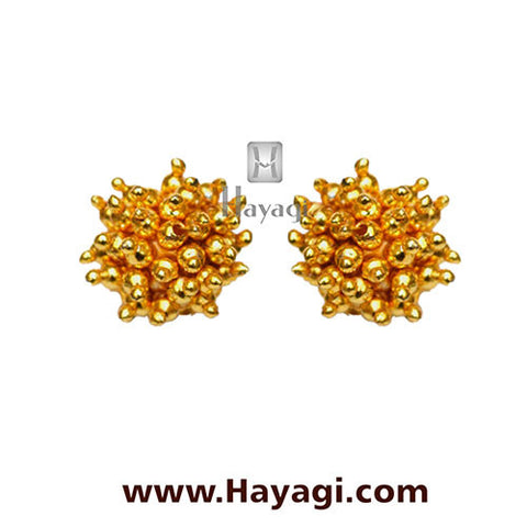 Maharashtrian Thushi Earrings Tops Online Shopping - Hayagi - Beeline  - 2