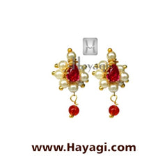 Pearl Grapes Tops Earrings Buy Online - Hayagi