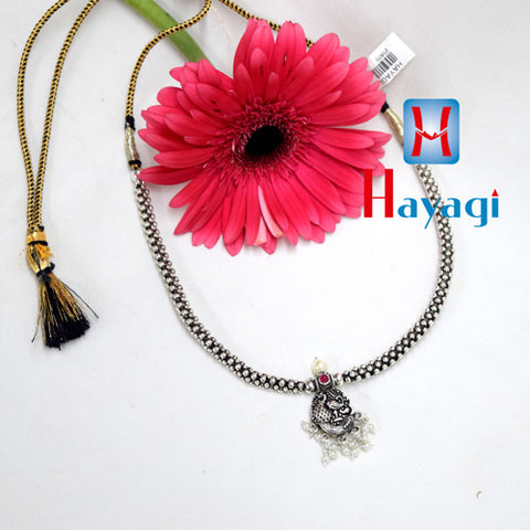 Oxidized Thushi Peacock Design Online Shopping - Hayagi