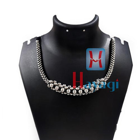 Thushi Plain Oxidized Design Online Shopping | Hayagi Pune
