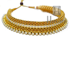 Traditional 9-Layered Thushi Ethnic Necklace Online -Hayagi