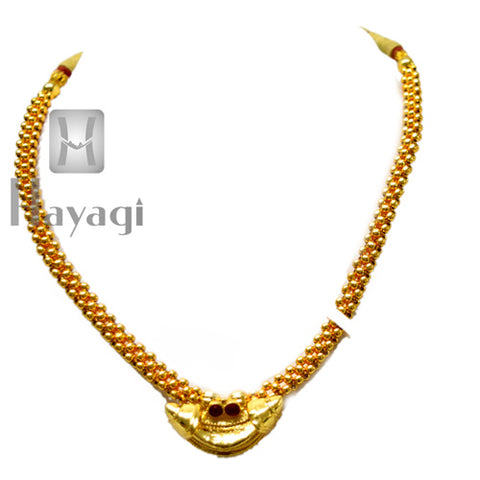 Chandrakor Thushi Traditional Jewellery Buy Online - Hayagi