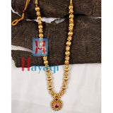 Thushi Long Necklace Saaj Pendant_Hayagi(Pune)
