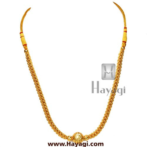 Kolhapuri Thushi Gold Finish Online Shopping-Hayagi - Beeline  - 1