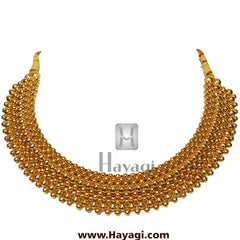 9 Layered Broad Thushi Necklace Online -Hayagi - Beeline  - 1