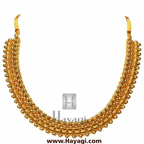 Kolhapuri Thushi Patta Necklace Online Shopping - Hayagi