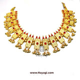 Thushi Necklace Online | Square Shape Peti Haar | Hayagi