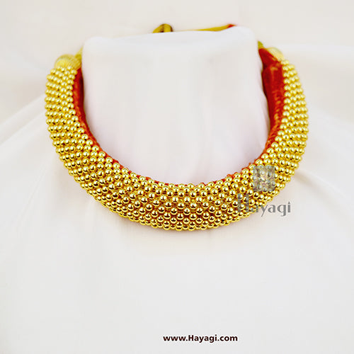 Traditional Kolhapuri 9 Layered Thushi Online Shopping_Hayagi(Pune)