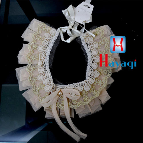 Fashion Floral Cloth Flower Necklace Jewellery_Hayagi(Pune)