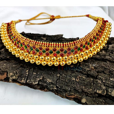 Vajratik With Semiprecious Multiple Stones Buy Online-Hayagi(Pune)