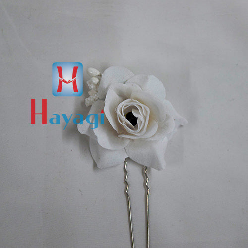Red & White Artificial Rose Flower Online_Hayagi