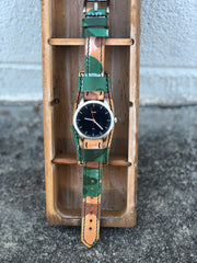 """Calhoun"" Premium Watch Strap with Ghost Camo Leather"