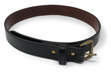 Handmade Leather Belt | Horween Chromexcel | Black