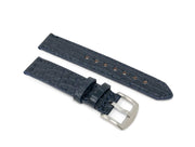 Premium Strap with Navy Alligator Leather