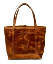 Holly Tote in Horween English Tan Dublin Leather