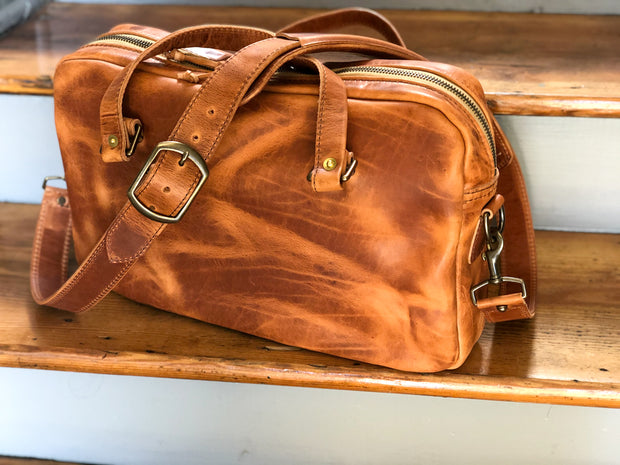 Slim Briefcase in Horween English Tan Briefcase