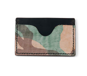 Handmade Leather Wallet |  Cardholder | Ghost Camo