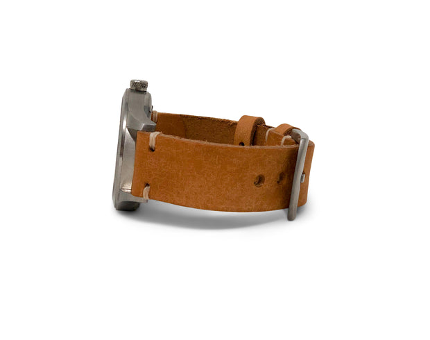 Standard Watch Strap with Natural Pueblo Leather