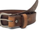 Handmade Leather Belt | Horween English Tan Dublin
